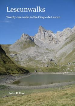 Lescunwalks - the only english language guide book to walks in the Cirque de Lescun - one of the most amazing areas of the Pyrenees.